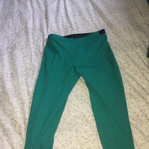 turquoise capris very comfortable and silky
